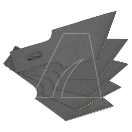 BGS Ersatz-Schaberklingen 0,6 x 16mm x 53°, 5er Set