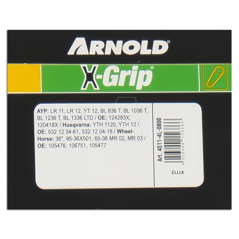 ARNOLD X-Grip Keilriemen 4L 800, 4511-4L-0800