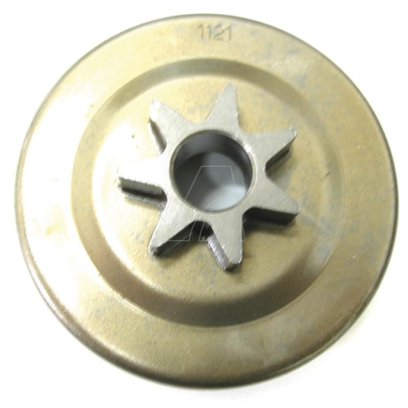 Kettenrad passend für Stihl 026, MS260, MS260 C, MS270 C, MS280 C, MS280 mit Ölpumpenantrieb, 1093-S7-0001