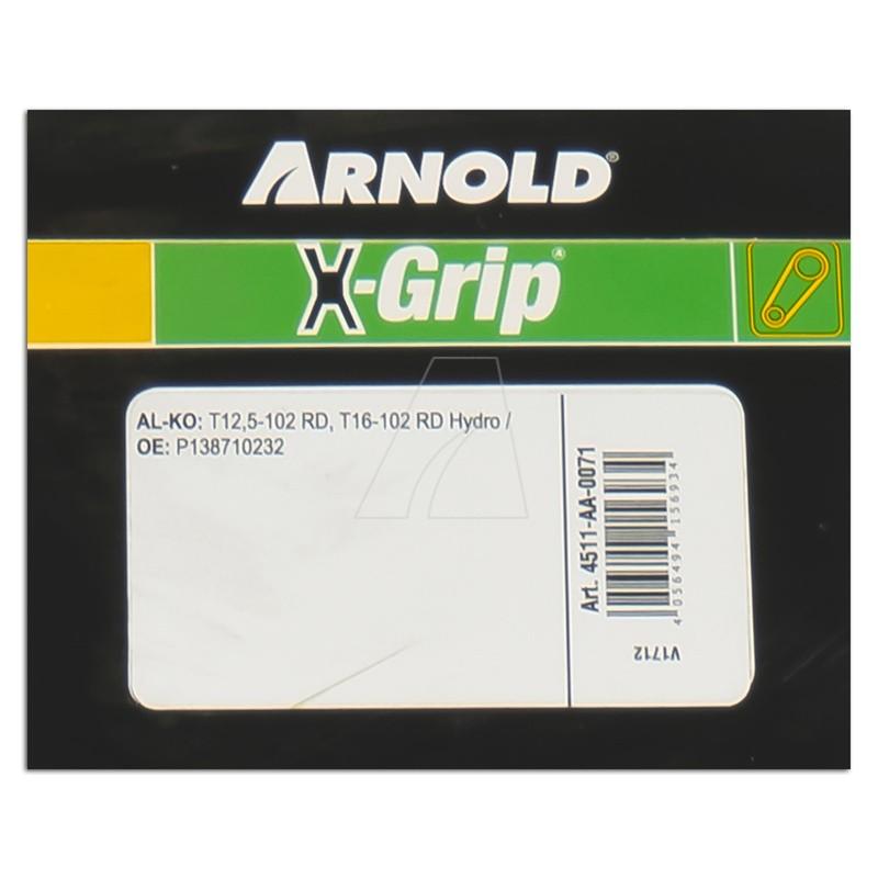 Sechskantkeilriemen ARNOLD X-Grip AA 71, 4511-AA-0071