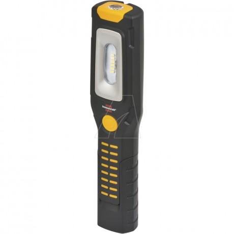 Brennenstuhl 6 + 1 LED Akku Multifunktionsleuchte mit Knickfuß, Magnet und USB-Kabel
