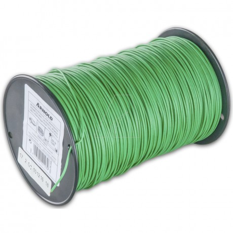 ARNOLD Begrenzungsdraht für Mähroboter, grün, 500 m, 1 mm²