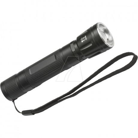 Brennenstuhl LuxPremium Akku-Fokus-LED-Taschenlampe TL 250AF, IP44, CREE-LED, 250 lm, inklusive Akku