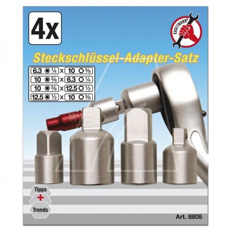 BGS Steckschlüssel-Adaptersatz 4-tlg.