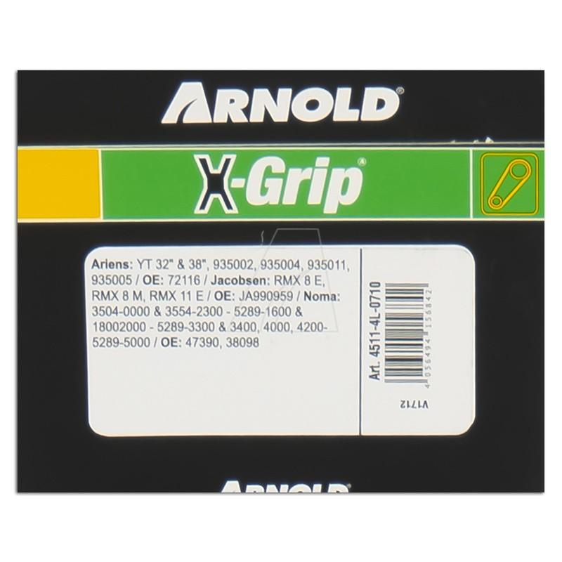 ARNOLD X-Grip Keilriemen 4L 710, 4511-4L-0710