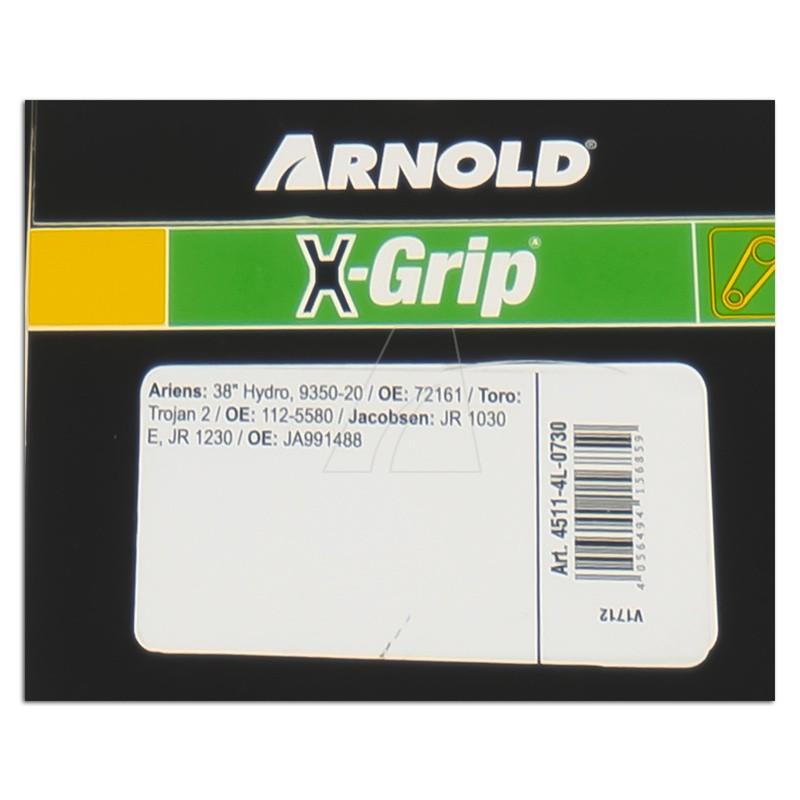 ARNOLD X-Grip Keilriemen 4L 730, 4511-4L-0730