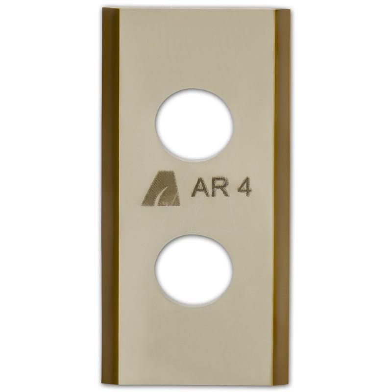 ARNOLD TiN-Cut Ersatzklingen passend für Worx Landroid Mähroboter, 9 Stück, 1111-W1-1009