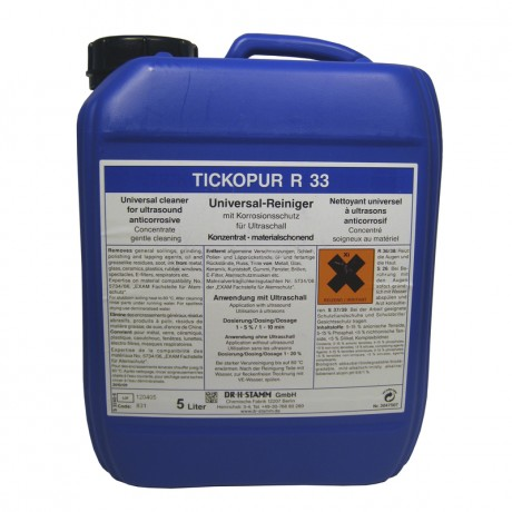 Reinigerkonzentrat 1:10 für Ultraschallreiniger, 5 L