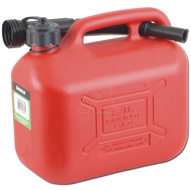 Kraftstoffkanister 5 L, rot, 6011-X1-7003