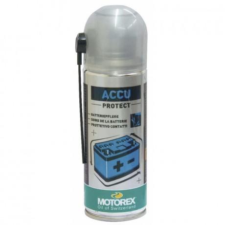 MOTOREX Accu Protect Batteriepolspray, 200 ml