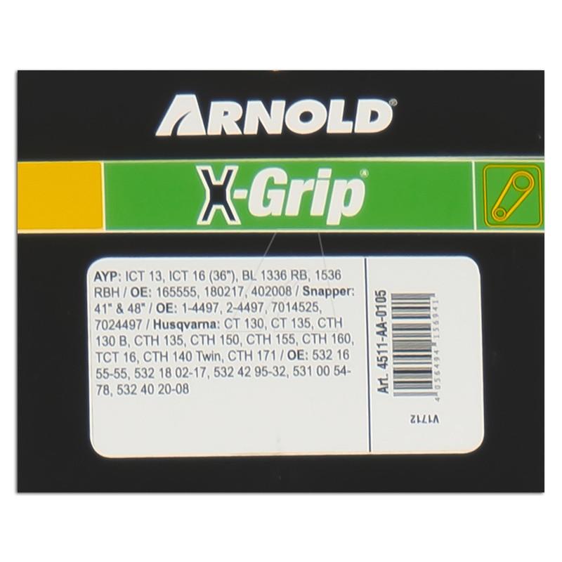 Sechskantkeilriemen ARNOLD X-Grip AA 105, 4511-AA-0105