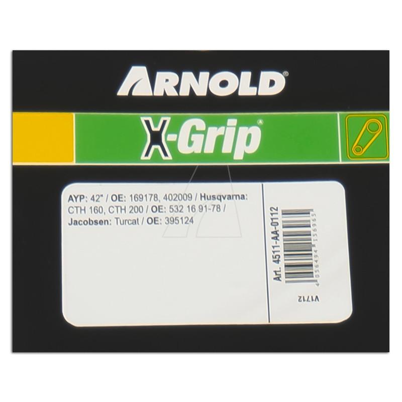 Sechskantkeilriemen ARNOLD X-Grip AA 112, 4511-AA-0112