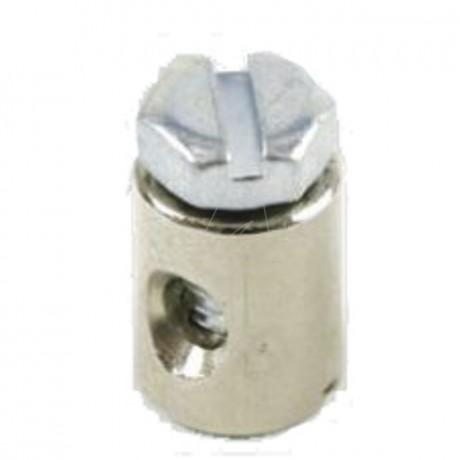 Schraubnippel 9,0 mm, ID 2,5 mm, 20 Stk. im Beutel