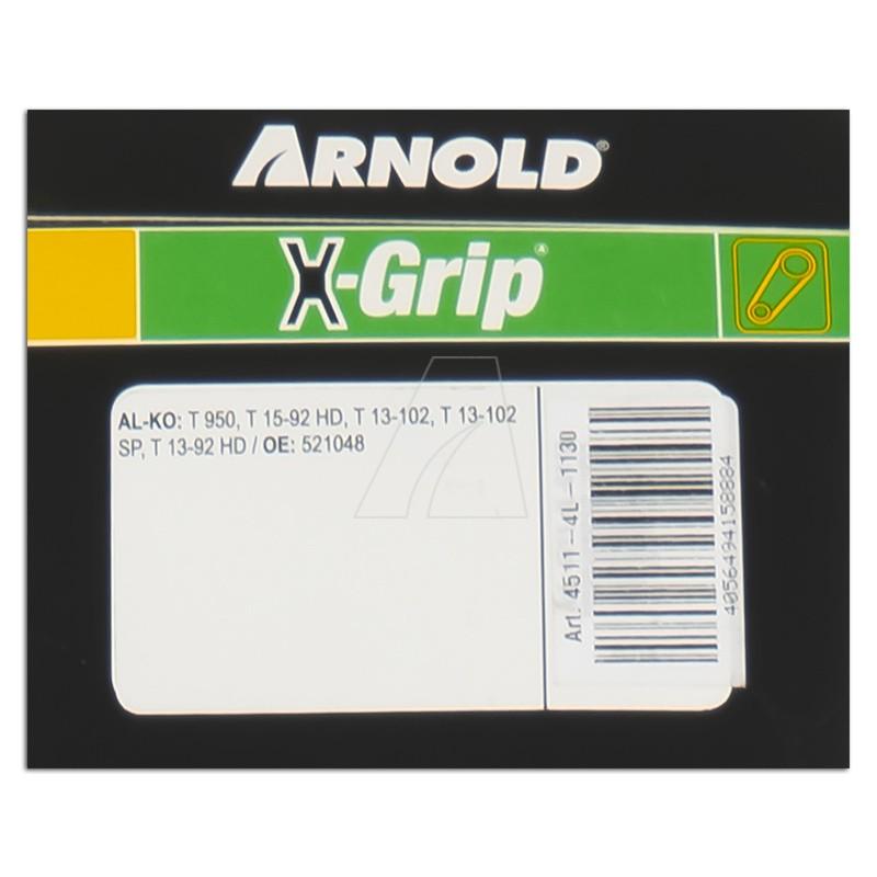 ARNOLD X-Grip Keilriemen 4L 1130, 4511-4L-1130