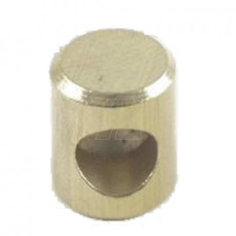 Lötnippel-Aufnahme 10,0 mm, ID 1,8 mm, 20 Stk. im Beutel