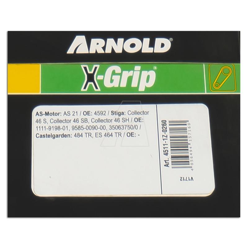 ARNOLD X-Grip Keilriemen Z 26, 4511-1Z-0260